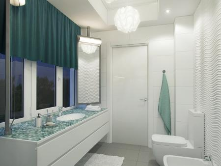 Bathroom of the second floor. Pic. 2